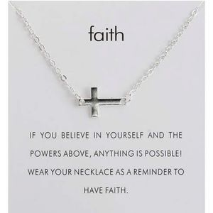 Jewelry - Faith Cross Necklace